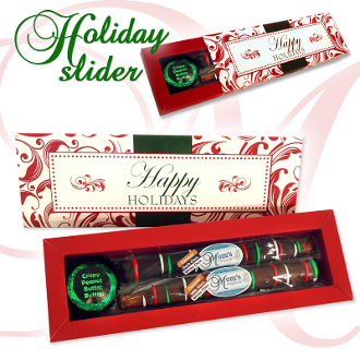 Holiday Slider - Rods and Buttons